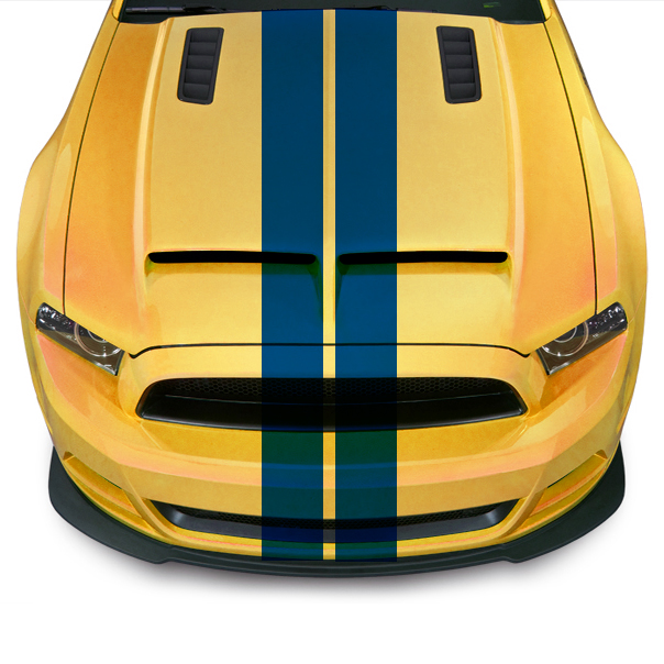 100mm VIPER RACING STRIPES - SELECT YOUR COLOUR
