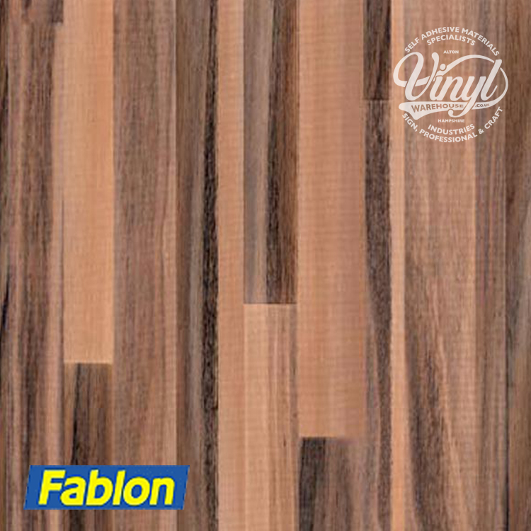 2m x 67cm Palisander Planked Wood Sticky Backed Vinyl Fablon (FAB11880)