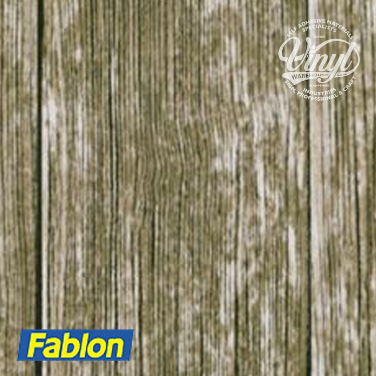 2m x 67cm Rural Wood Sticky Backed Vinyl Fablon (FAB11626)