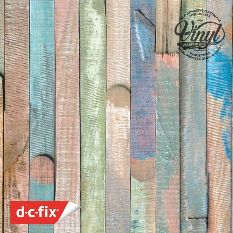 45cm Rio Planked Wood Sticky Vinyl (200-3196) From 1 - 15m