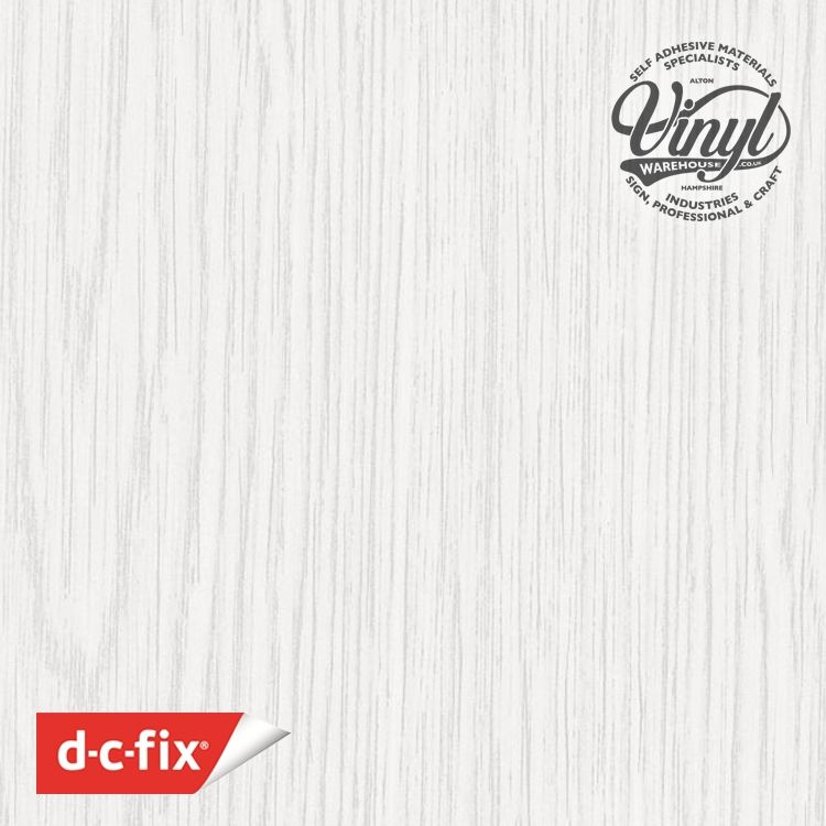 45cm Semi Gloss Whitewood Sticky Backed Vinyl (200-1899) from 1 to 15m