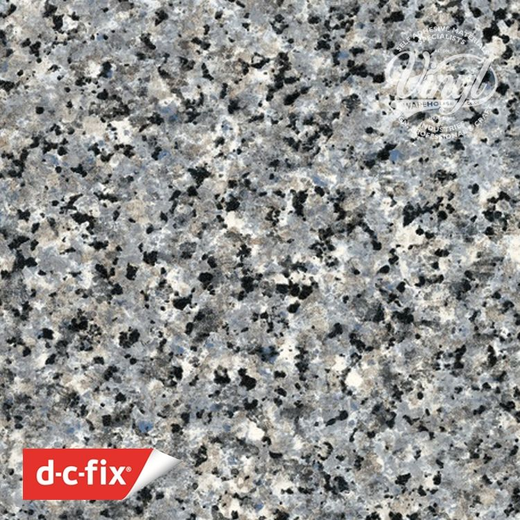 67cm Granite Blue/Grey Porrinho Sticky Back Vinyl (200-8205) Lengths from 1m to 15m