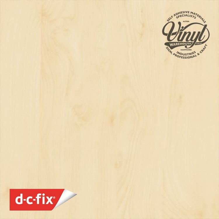 90cm Birch Wood Sticky Back Vinyl (200-5475) Lengths from 1m to 15m