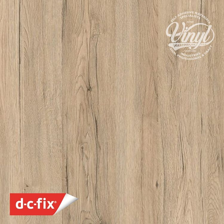 90cm San Remo Eiche Sand Wood Sticky Back Vinyl (200-5597) Lengths from 1m to 15m