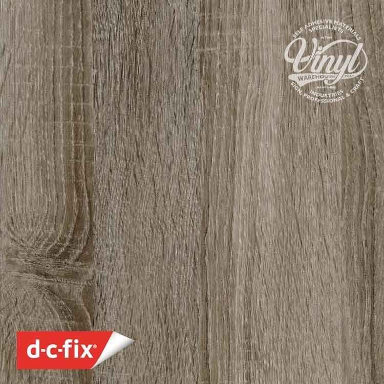 90cm Sonoma Oak Truffle Wood Sticky Back Vinyl (200-5593) Lengths from 1m to 15m