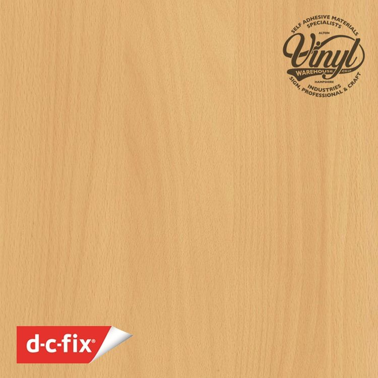 90cm Beech Wood Sticky Back Vinyl (200-5427) Lengths from 1m to 15m