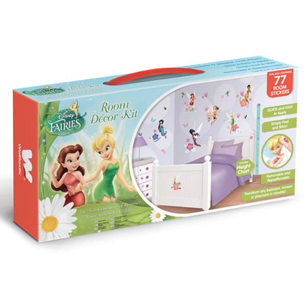Disney Magical Fairies Room Decor Kit - 75 Piece