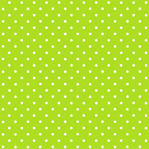 Lime Green Large Polkadot Sticky Vinyl Fablon 200 3214
