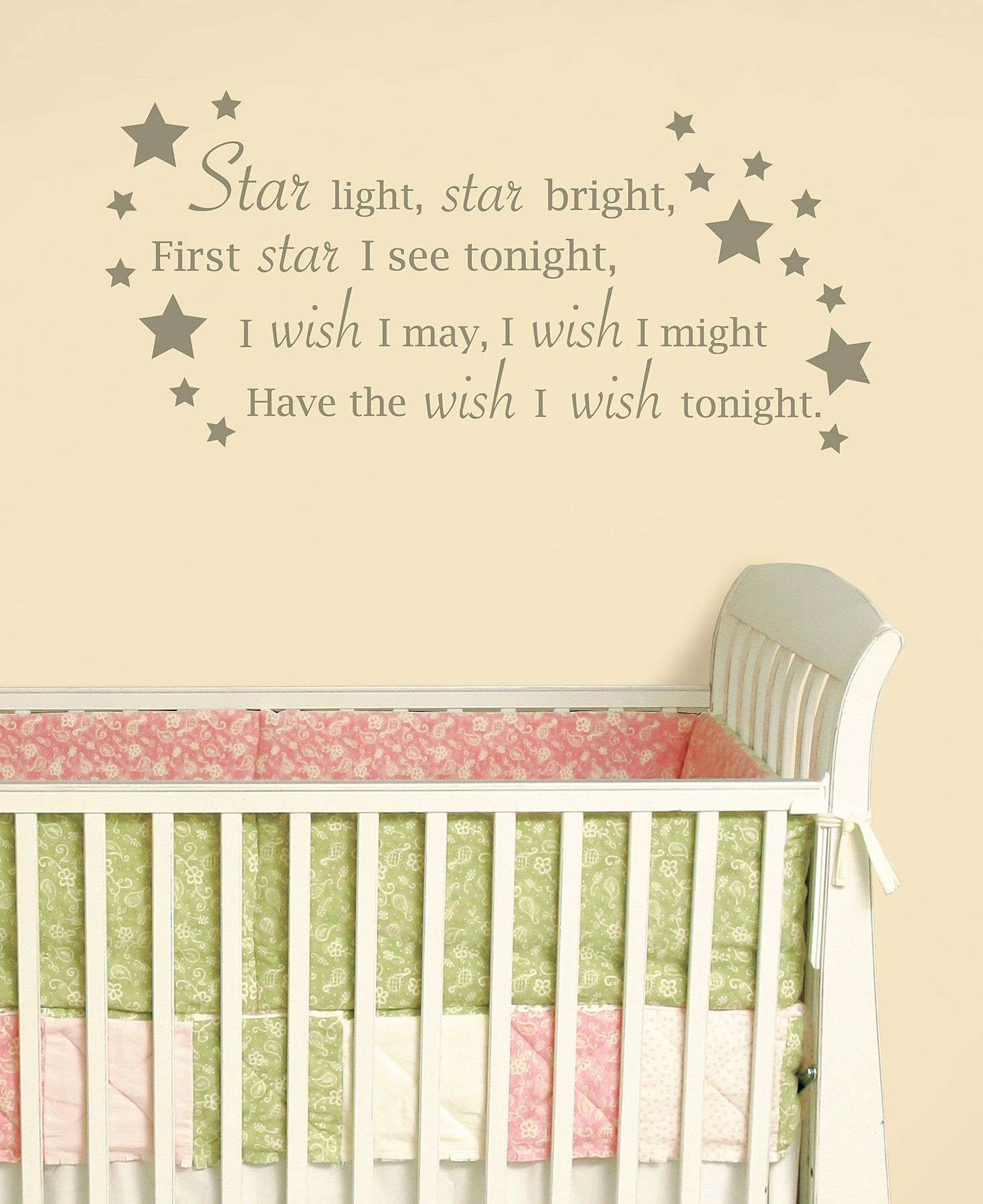 Star Light Star Bright Wall Art Sticker