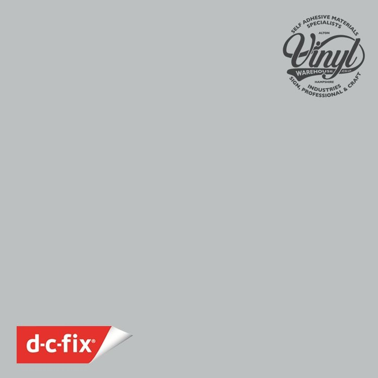 D-C-Fix Matt Light Grey RAL 7035 Sticky Back Vinyl (346-8169) 67cm x 2m