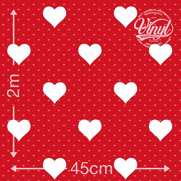 End of line: Red Heart 'Santa Fe Rosa'  Print Sticky Vinyl (346-0639) 45cm x 2m