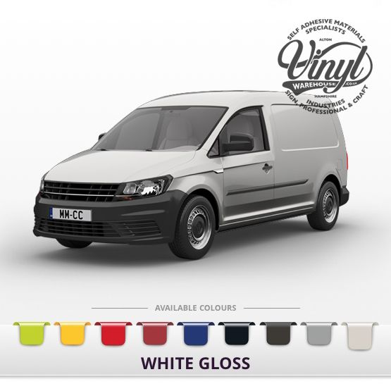 Gloss White Vehicle Wrapping Film with Air Channel Adhesive
