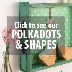 POLKADOT, STARS & SHAPES